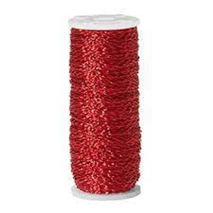 Bullion Wire 28 Gauge Red