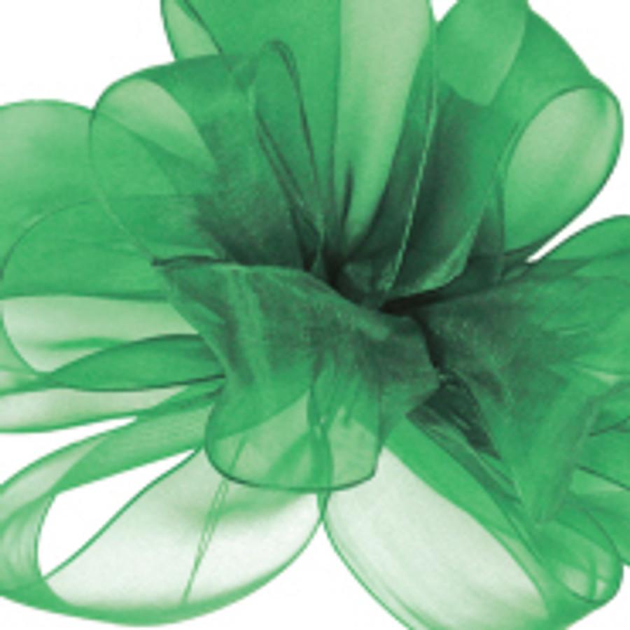 #3 CHIFFON emerald 25 yds