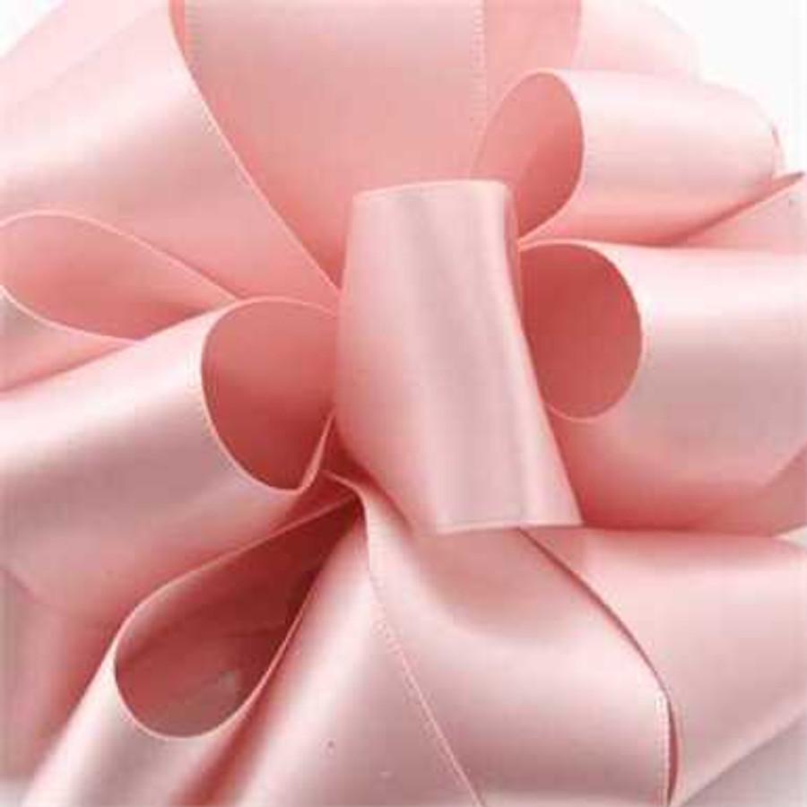 #3 DBL face satin Pink Blush 50yrds