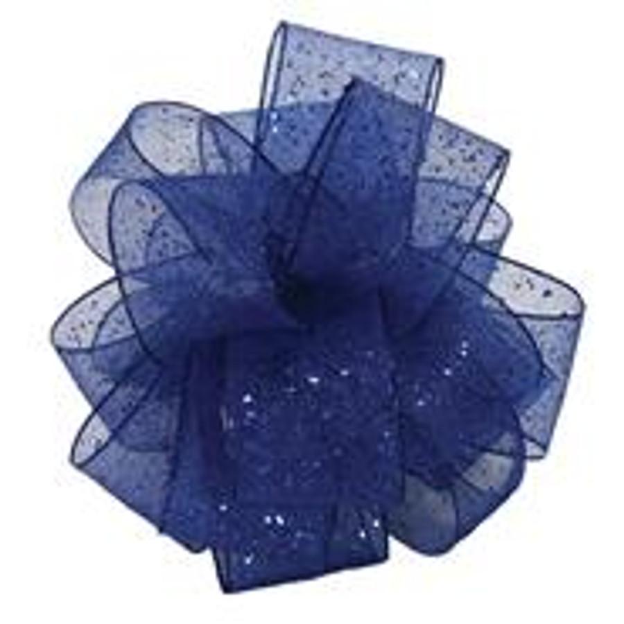 #3 Royal blue flash corsage ri