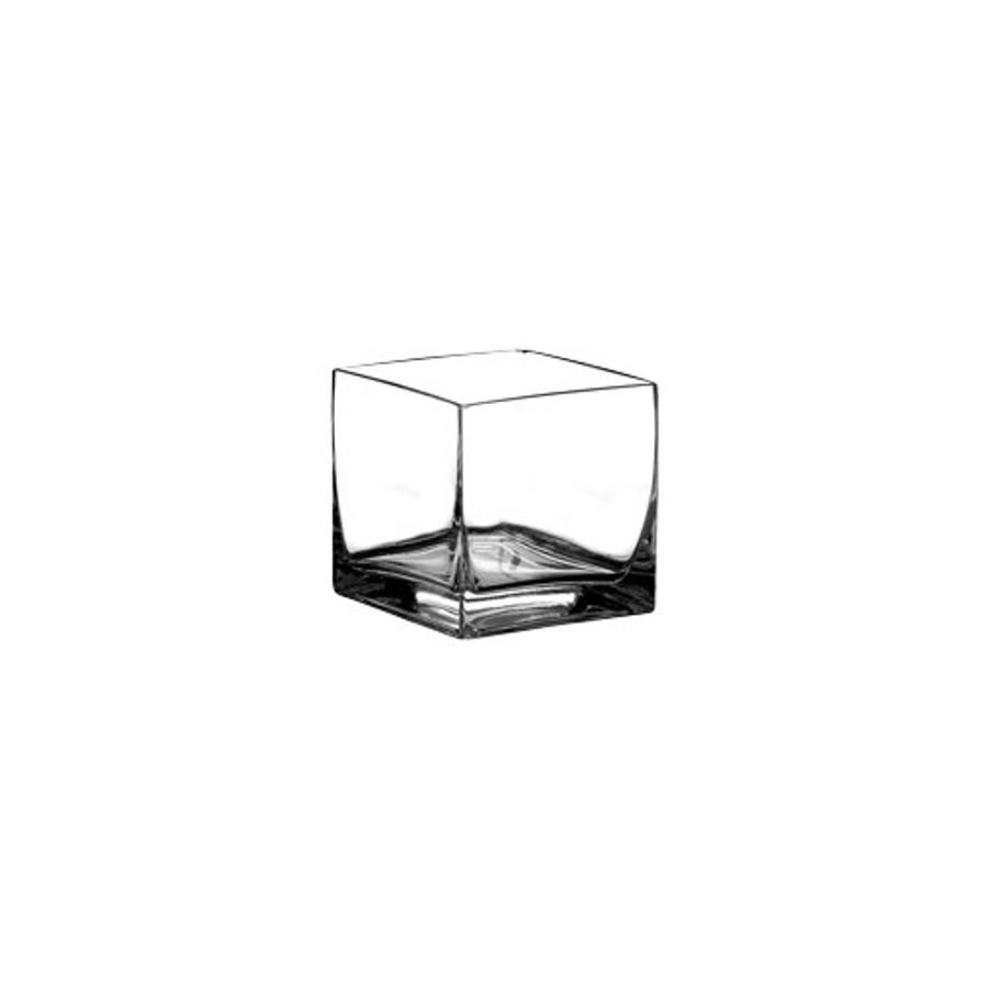 """Cubes 4x4x4"""" Clear 12cs"""