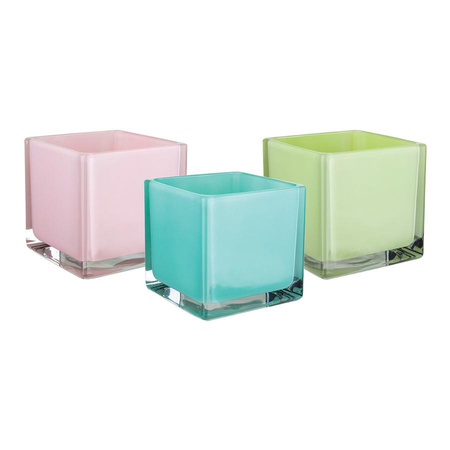 Cubes 5x5x5 Sheer Cabana 6cs