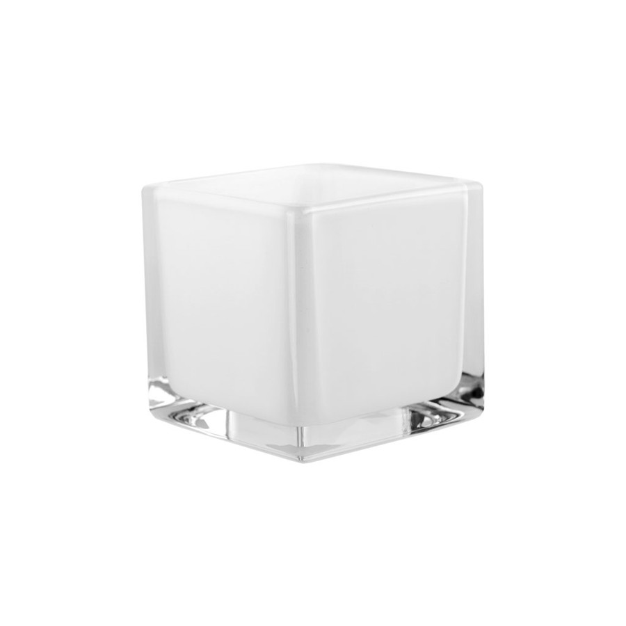 Cubes 4x4x4 white 12cs