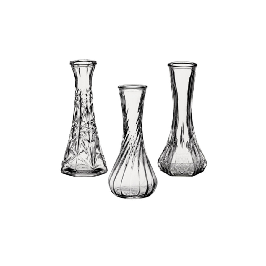 """Bud Vase Asst 6"""" 4063 24cs"""