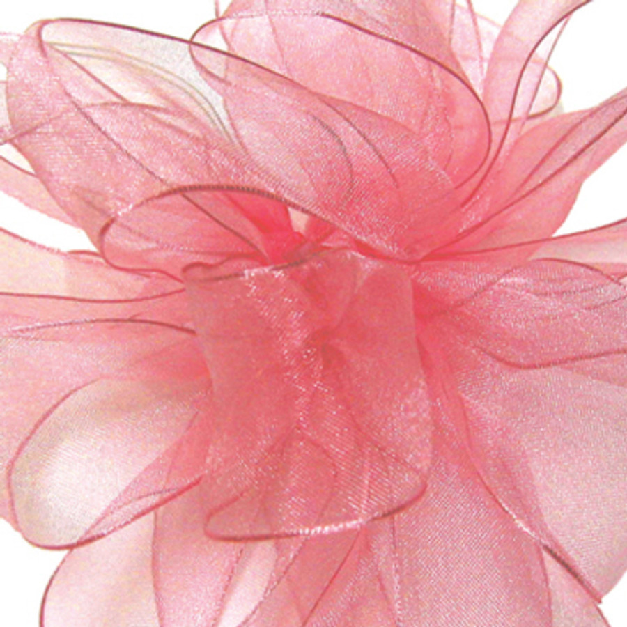 #3 CHIFFON lt pink 25 yrds.