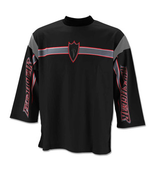Black/Red - Front