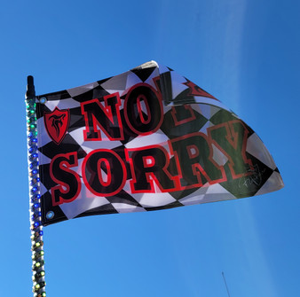 FLESHGEAR SIGNITURE SERIES NOT SORRY FLAG - RED