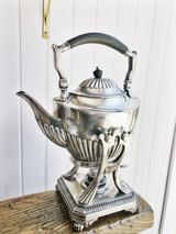 Tiffany & Co Silver Tilting Teapot from Jay Gould's Private Railroad Car Atalanta