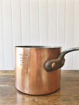 Antique B&O Railroad Copper Pot - 3 qt