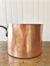 Antique B&O Railroad Copper Pot - 4 qt