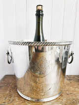 1955 Silver Plated Champagne Bucket from The Ambassador Hotel in Chicago