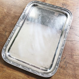 1917 Silver Plated Tray from The Hotel Statler