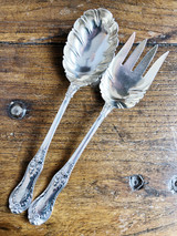 Antique Silver Plated Tiffany & Co Serving Utensils