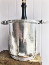 1934 Silver Plated Champagne Bucket from The Mayflower Hotel in Washington DC