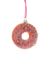 Frosted Donut with Sprinkles Ornament
