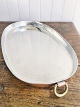 Antique Duparquet Copper Gratin Dish