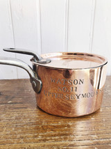 1840s Copper Sauté Pan and Lid Belonging to a London Confectioner