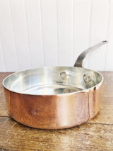 Antique Heinrichs Copper Pan from Restaurant Mayan NYC