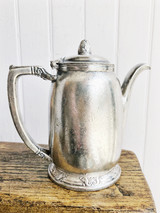 1949 Silver Plated Waldorf Astoria Hotel Teapot
