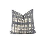 Gray Mud Cloth Pillow