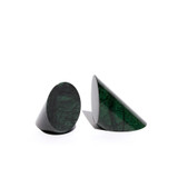 Green Marble Bookend Set