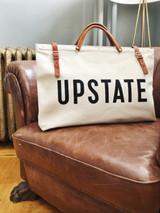 UPSTATE Canvas + Leather  Weekender Bag