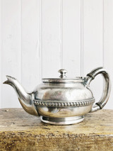 Antique Silver Teapot from Broadway Faust's Restaurant & Majestic Theater