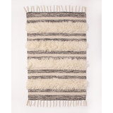 Wool + Cotton Shag Rug