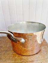 Antique Mutual NY Copper Pot