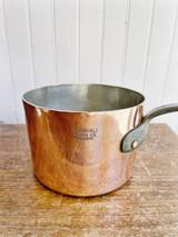 Antique Bramhall Range Co Chicago Copper Pot