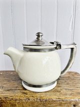 1961 China and Silver Teapot from The Plaza Hotel NYC