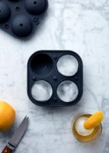 Quadruple Sphere Ice Mold