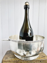 1946 Silver Plated Wine Chiller Bucket from The St Regis Hotel NYC