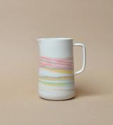 Taffy Tri-color Porcelain Pitcher