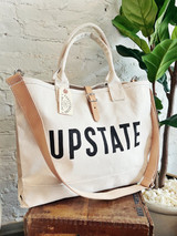 UPSTATE Canvas + Leather  Cargo Bag
