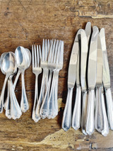 Service for 8 of Silver Plated Flatware from The Biltmore Hotel NYC
