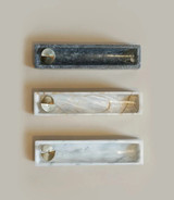 Marble + Brass Incense Box