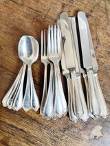 Service for 6 of Silver Plated Flatware from The Biltmore Hotel NYC