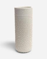 Tall Textured Vase