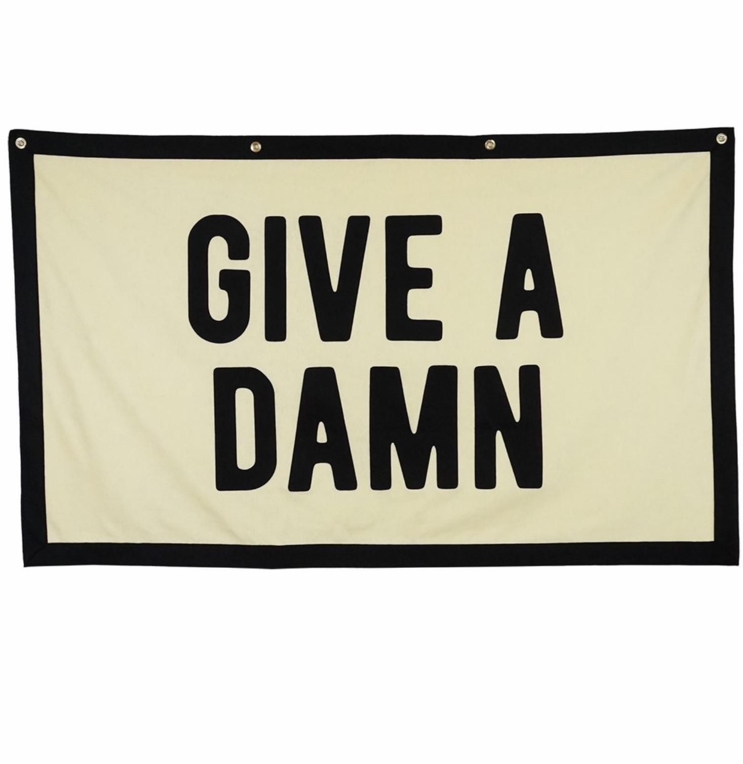 Give A Damn Championship Banner