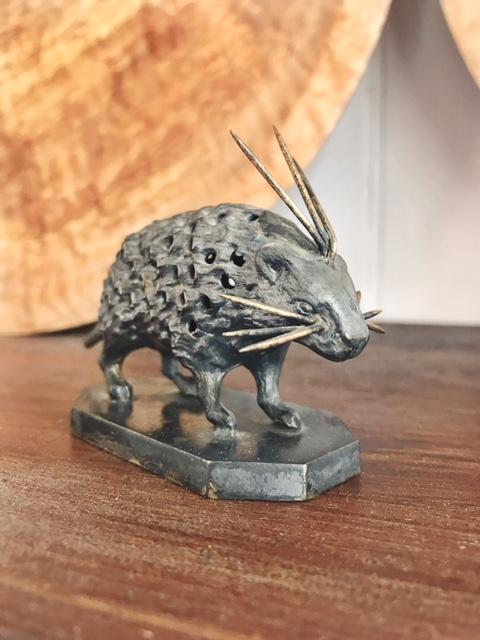 Victorian Era Porcupine Toothpick Holder