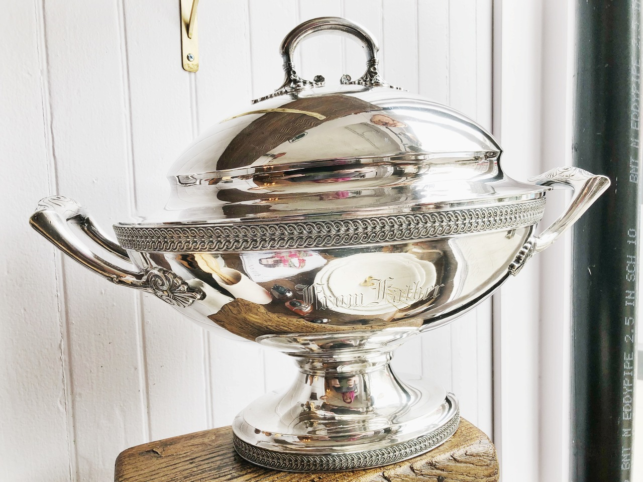 Antique Tiffany & Co Lidded Tureen