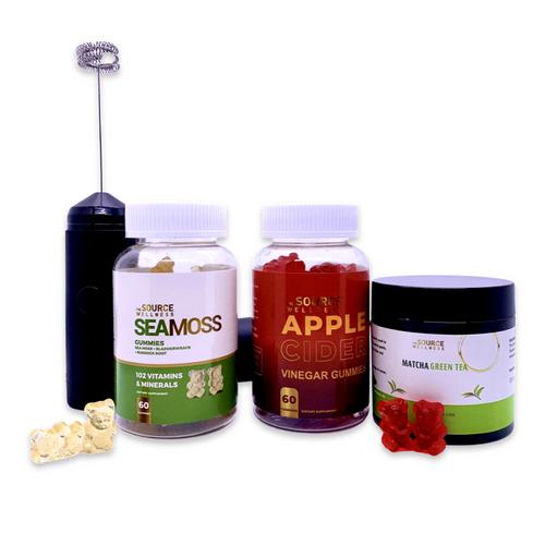 Energy  Bundle  -  ( ACV , Sea Moss, Mixer & Matcha Tea)