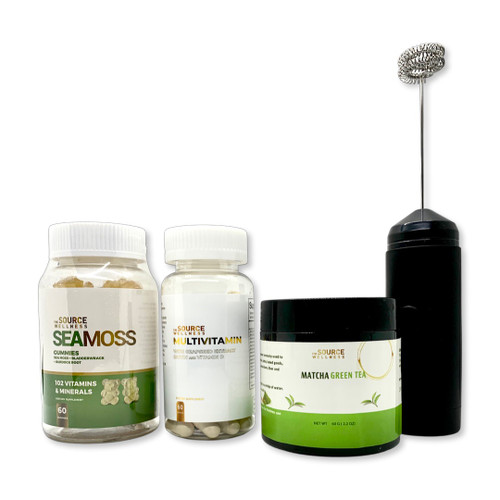 Energy  Bundle  -  (Multivitamin , Sea Moss, Mixer & Matcha Tea)
