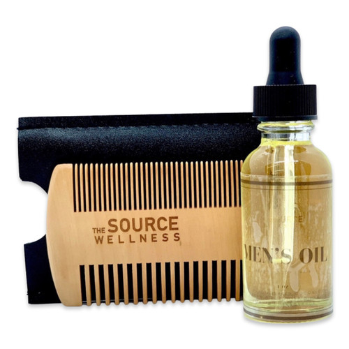 Men's Oil with Beard Comb