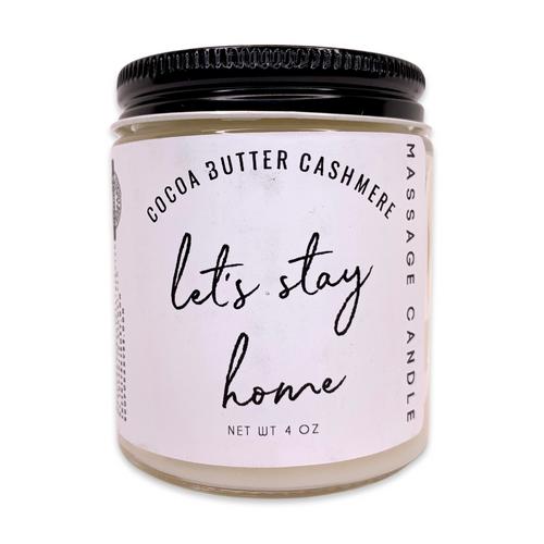 Coco Cashmere - Massage Candle - 4 oz