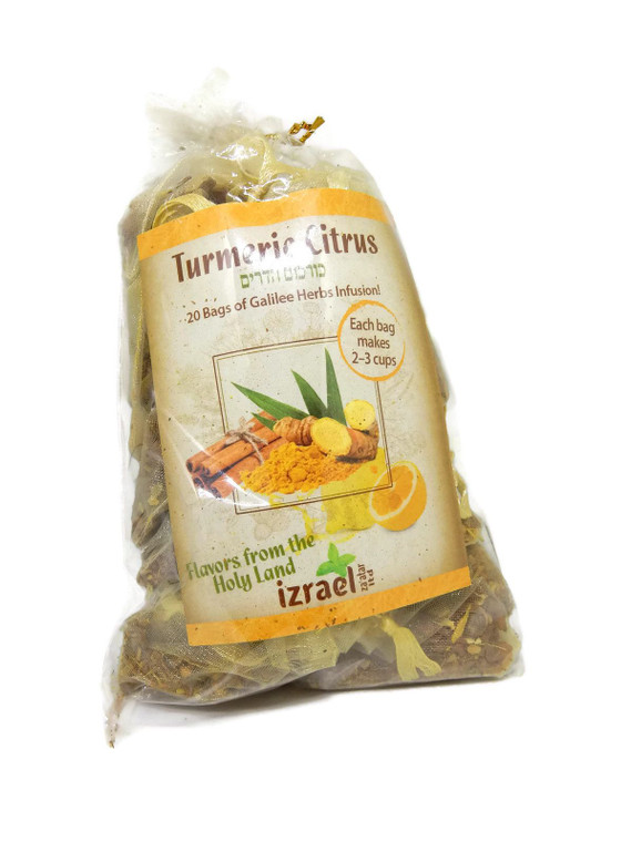 Turmeric Citrus Enriched Galilee Herbal Infusion