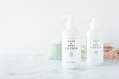 Natural Hand and Body Lotion - LAVENDER