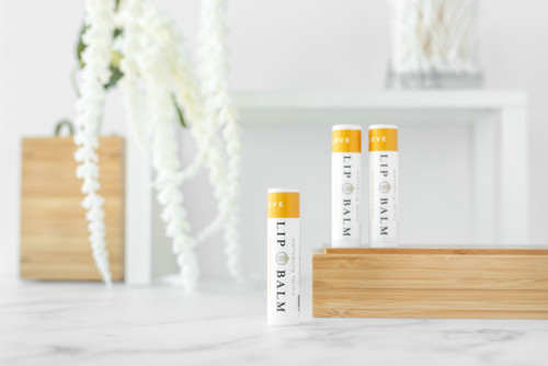 Our classic Clove Lip Balm is back! This ultra-hydrating formula is ideal for all skin types. Can be used on the lips, around the nose, cuticles, or any other place that needs protective hydration!