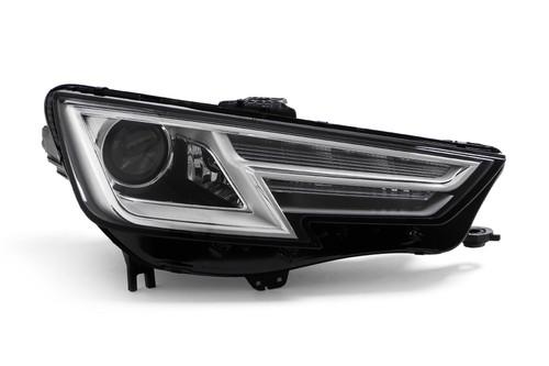 Headlight right chrome Bi-Xenon with cornering Audi A4 15-19
